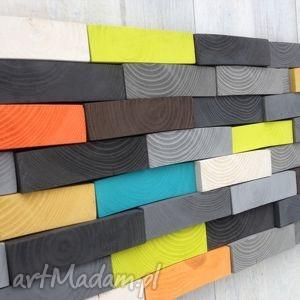 mozaika drewniana na zamówienie, ściana, mozaika, płaskorzeźba, drewniany, obraz