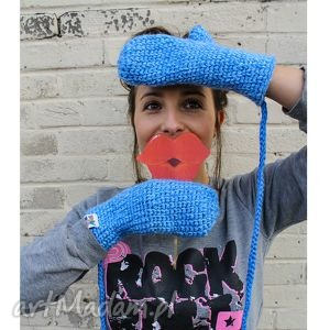 rękawiczki mode 14 - braininside, zima, rękawiczki, dwupalczaste