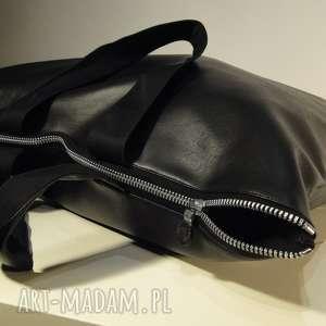 966811b9441e0 ... torebka czarna z ekoskóry