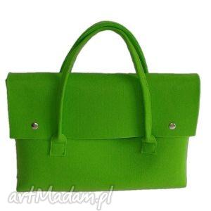 E-felt - torba, etui na laptopa lub tablet zieleń totostyle etui