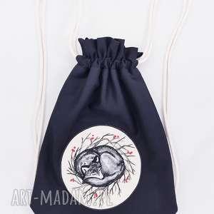 handmade plecaki plecak worek wilk
