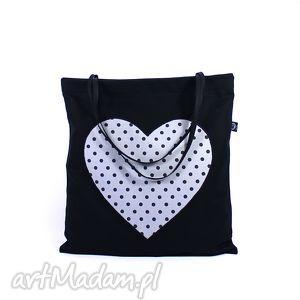 torba na zakupy zakupówka 27, zakupy, shopping, serce, torba, siatka, eco