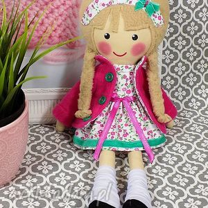 ręczne wykonanie lalki malowana lala julita