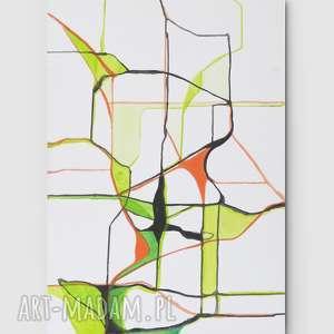 Świata widzenie nr 21 - sztuka, malarstwo, minimalizm, dom, wnętrze, obraz