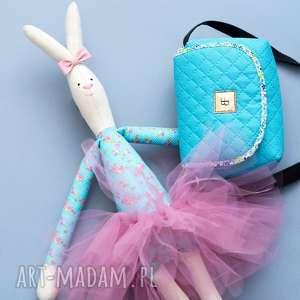 torebka dla dziewczynki sweet love 248 turkusowa, torebeczka, dziecięca, turkusowa