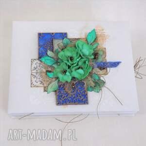 ręcznie zrobione scrapbooking albumy album azulejo
