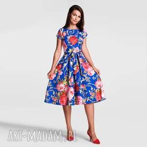 handmade sukienki sukienka marie midi caroline