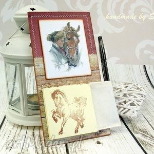notes na lodówkę- przyjaźń, notes, na, lodówkę, konie, przyjażń, magnes