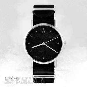 zegarki zegarek - czarny czarny, nato, unisex, zegarek, bransoletka, nato