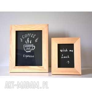 2 ramki dekoracje wooden love ramka, rama, tablicowy, drewniana,