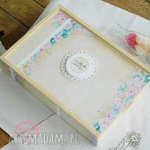 pudełko na zamówienie do albumu, pudełko, drewniane