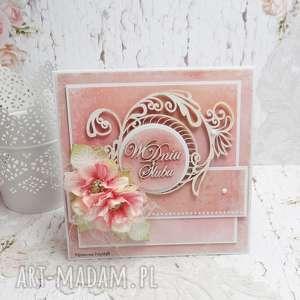 W dniu ślubu - kartka z pudełkiem KŚ2, ślub, pudełko-na-ślub, młodej-parze, kartka,