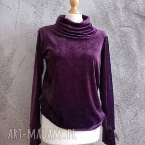 hand made bluzy bluza velvet rozmiar