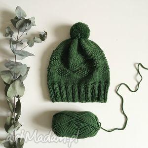 hand-made czapki czapka z wełny merynosów 100% wool
