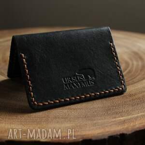 handmade portfele ręcznie wykonany portfel na karty z naturalnej skóry
