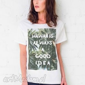 HAWAII IDEA Oversize T-shirt, oversize, hawaii