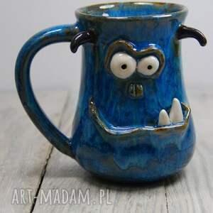 potworniasty kubek ceramiczny, gwiazdka, prezent, do kawy, herbaty, dla dziecka