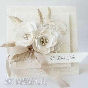 Ślub w diamentach - w pudełku - ślub, gratulacje, życzenia, kartka