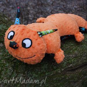 maskotki pan gąsienica- wyjątkowa przytulanka handmade, maskotka, minky, handmade
