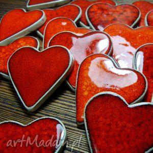 hand-made ślub ceramiczne magnesy - podziekowania dla gości