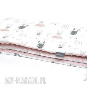 ręcznie robione dla dziecka milutka ochraniacz do łóżeczka minky dwustronny baletnice
