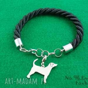 Bransoletka angielski foxhound pies nr.96, bransoletka, pies, rasy-psów, rękodzieło