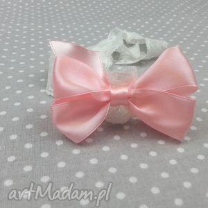 opaska kokardka na gumce dla dziewczynki bukiet pasji - niemowlę, dziewczynka