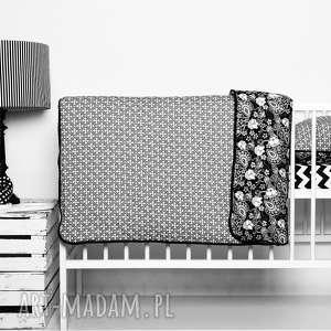 Pościel dziecięca z kołderką 110x125cm i poduszką 50x60cm BLACK od majunto