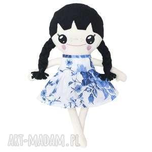 Bawełniana Lalka LALALILA - Poofy Cat, lala, lalka, laleczka, róże, warkocze