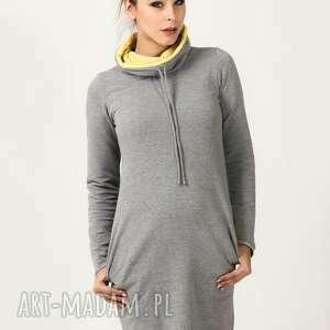 sukienka sportowa kaja 8, wygodna, sportowa, elegancka, modna, ciepła, dresówka