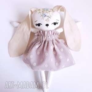 ręcznie zrobione lalki lalka królik kalinka
