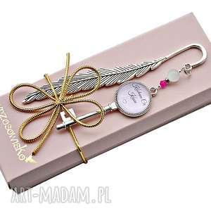 Prezent Zakładka z wyznaniem miłości, personalizacja, prezent na Walentynki, zakładka