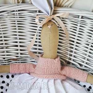 pani królik, prezent, dzień, dziecka, chrzciny, komunia, urodziny maskotki