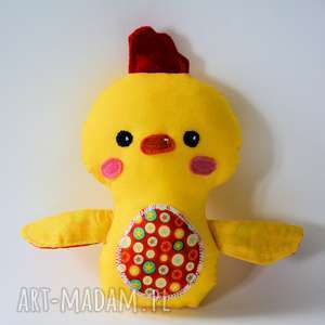 Kurczak mały Tomek, kurczak, dziecko, jajko, maskotka, zabawka, wielkanoc