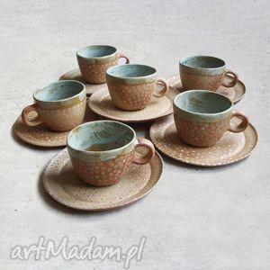 ceramika filiżanka z talerzykiem, filiżanka, talerz, komplet, ślub, prezent