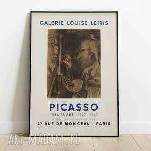 Pablo picasso, plakat wystawowy 50x70 plakaty pas de lart