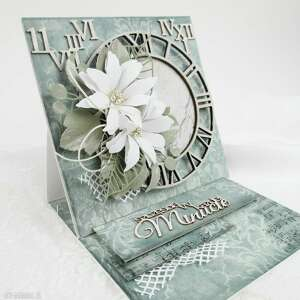 scrapbooking kartki sztalugowa kartka urodzinowa w pudełku, urodziny, gratulacje