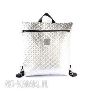 plecak torba 2w1 pikowany, plecak, torba, plecakotorba, pikowanyplecak