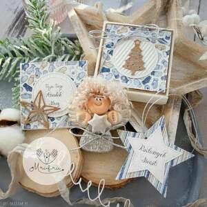 Prezent na święta: Aniołek bożonarodzeniowy zestaw świąteczny: