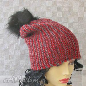 Czapka zimowa., czapka, męska, zima, nadrutach, akcesoria, moda