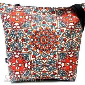 handmade na ramię torba trapezowa-shopper bag