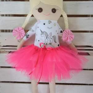 Szmacianka, szmaciana lalka w tutu, szmaciana, szyta, szmacianka, lalka, przytulanka