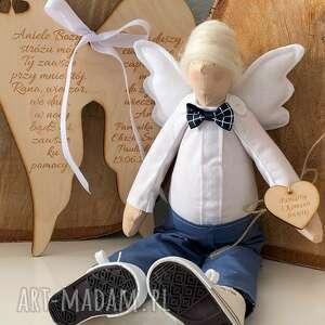 handmade lalki anioł pamiątka pierwszej komunii świętej chrztu