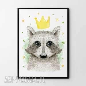 plakat obraz król szop 50x70 cm b2, dziecko, plakat, plakaty