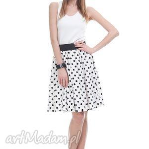 sukienki spódnica asala, moda, grochy