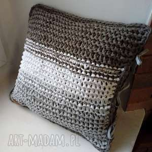 poszewka na poduszkę, poszewka, poszewkanapoduszkę, drutach, bawełniana, dom