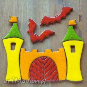 handmade ceramika kolorowe zamczysko