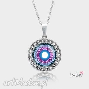 medalion okrągły mały peace mandala - symbol, zen, spokój, harmonia