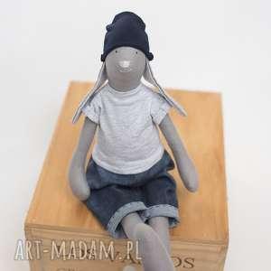 ręcznie zrobione lalki tilda króliś kajtuś
