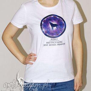 koszulka bawełniana - skuteczność jest miarą prawdy rozmiar l, koszulka, wilk